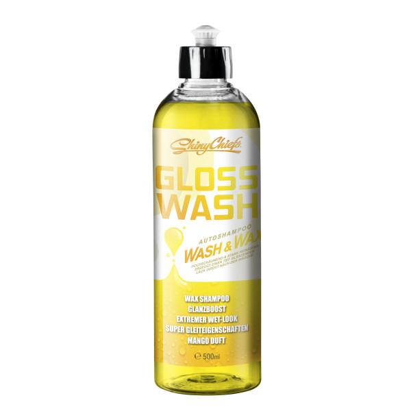 GLOSSWASH MANGO - WASH & WAX 500ml