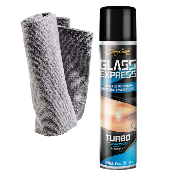 GLASS EXPRESS - TURBO GLASREINIGER 400ml Set