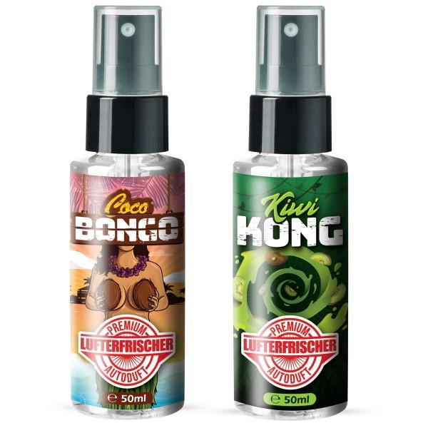 Flavour Bomb - Kiwi Kong + Coco Bongo (2x50ml)