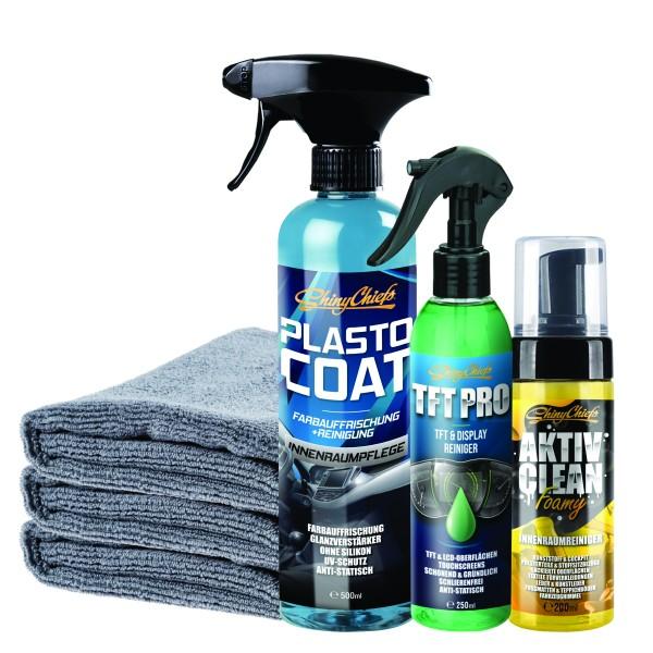 PLASTO COAT + TFT PRO + AKTIV CLEAN Set