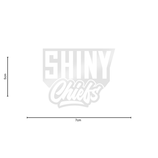 ShinyChiefs Sticker MOTIVE #2 WEISS
