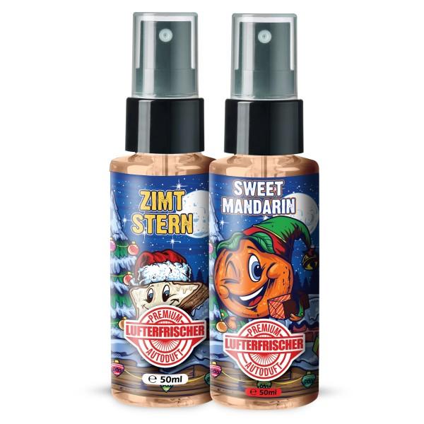 Flavour Bomb - ZIMTSTERN + SWEET MANDARIN (2x50ml)