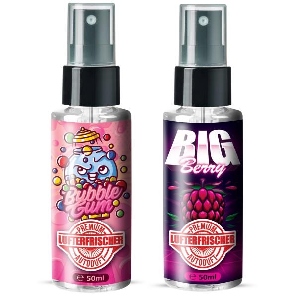 Flavour Bomb - Bubblegum + Big Berry (2x50ml)