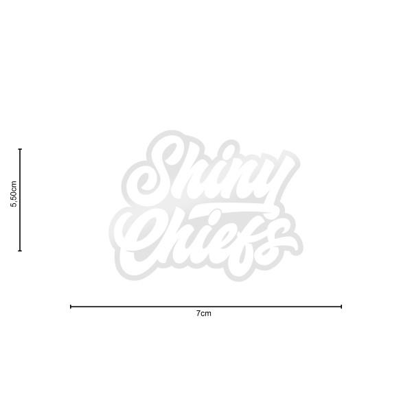 ShinyChiefs Sticker MOTIVE #1 WEISS