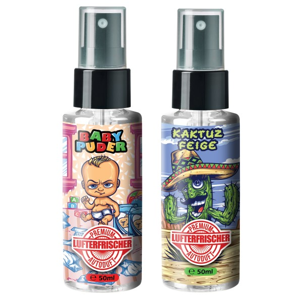 Flavour Bomb - BABY PUDER + KAKTUZ FEIGE (2x50ml)