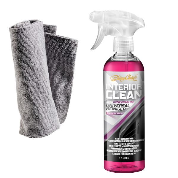 INTERIOR CLEAN - Universal Reiniger 500ml Set