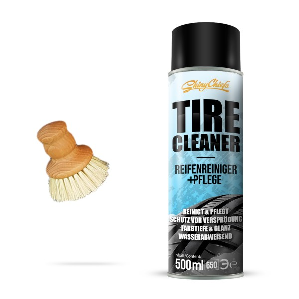 TYRE CLEANER - Reifenreiniger + Pflege 500ml Set