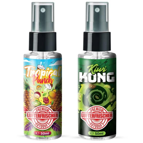 Flavour Bomb - Tropical Punsch + Kiwi Kong (2x50ml)