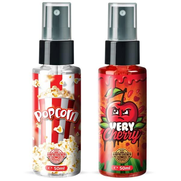 Flavour Bomb - Very Cherry + POPCORN (2x50ml)