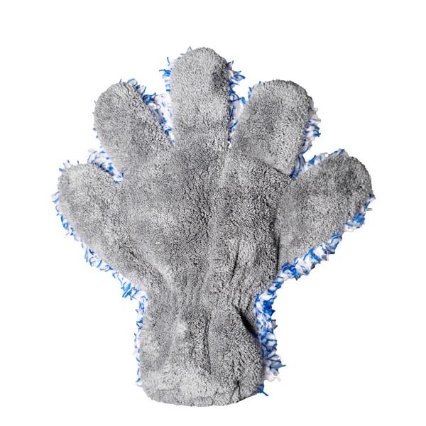 FIVE FINGER FLEECY - Mikrofaser Waschhandschuh