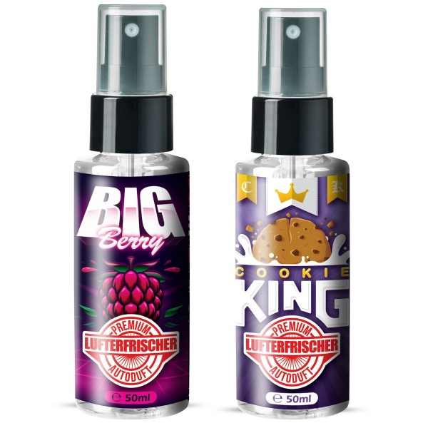 Flavour Bomb - Cookie King + BIG BERRY (2x50ml)