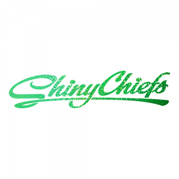 ShinyChiefs Sticker Glitter Green