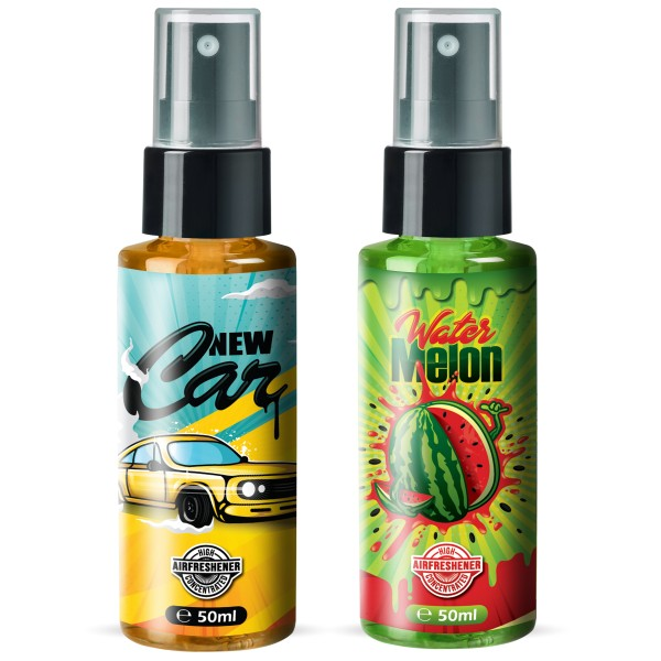 Flavour Bomb - Water Melon + New Car (2x50ml)