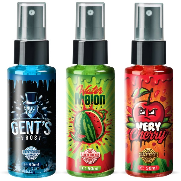 Flavour Bomb - Water Melon + GENT`S FROST + Very Cherry (3x50ml)