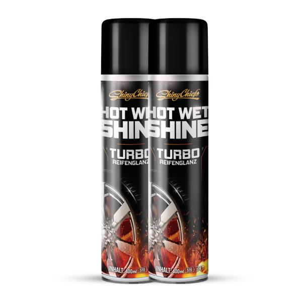 HOT WET SHINE - TURBO REIFENGLANZ DOUBLE (2x400ml)
