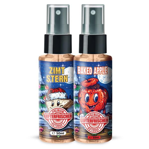 Flavour Bomb - ZIMTSTERN + BAKED APPLE (2x50ml)