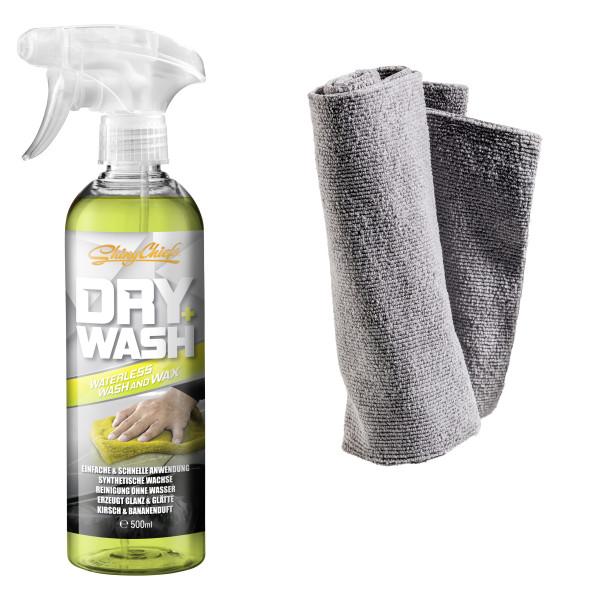 DRY WASH - WATERLESS WASH & WAX 500ml Set