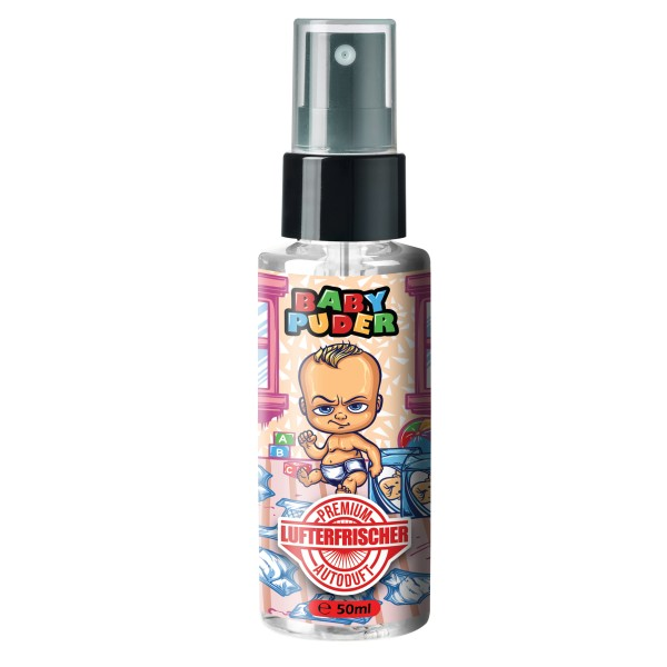 Flavour Bomb - BABY PUDER 50ml