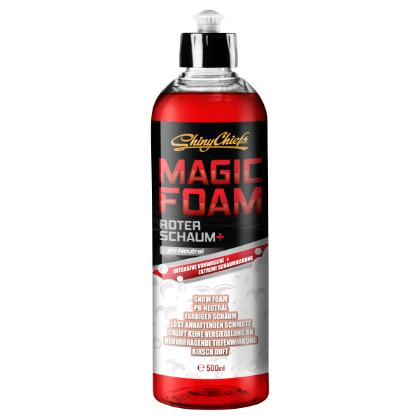 MAGIC FOAM - ROTER SNOW FOAM 500ml
