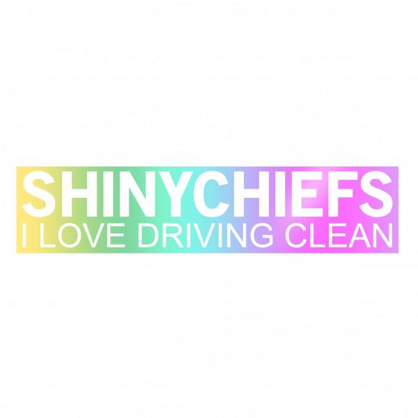 ShinyChiefs Sticker MOTIVE #1 OILSLICK
