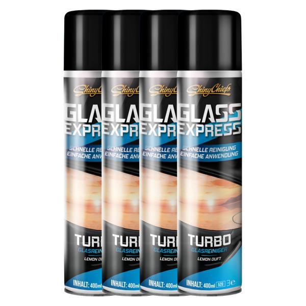 GLASS EXPRESS - TURBO GLASREINIGER (4x400ml)