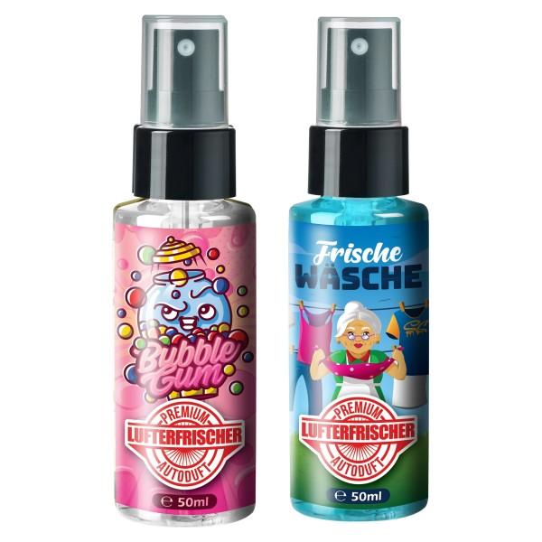 Flavour Bomb - Bubblegum + Frische Wäsche (2x50ml)