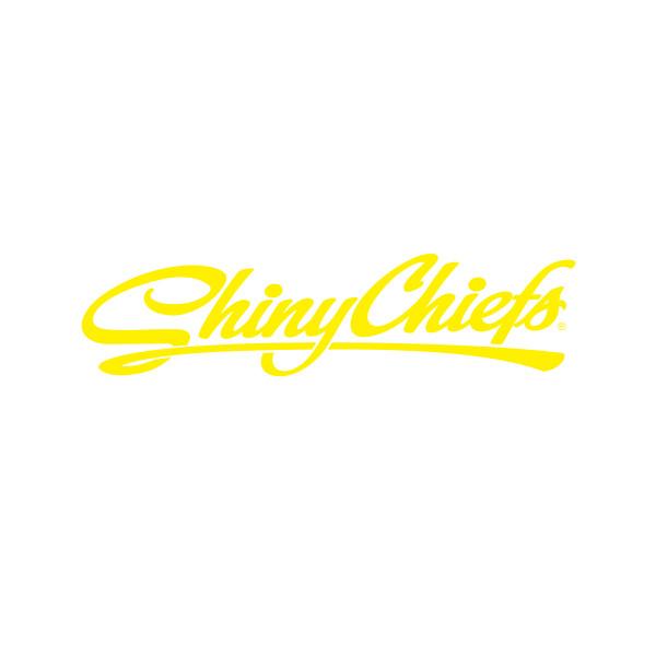 ShinyChiefs Sticker - Gelb (30cm x 10cm)