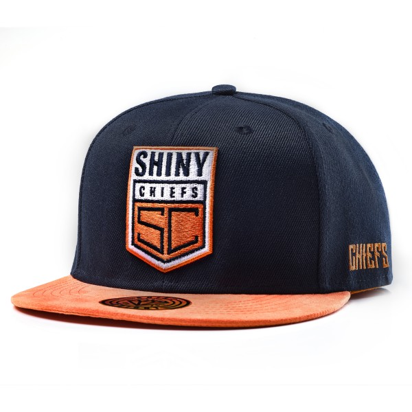 SNAPBACK CAP - BLUE ORANGE EDITION
