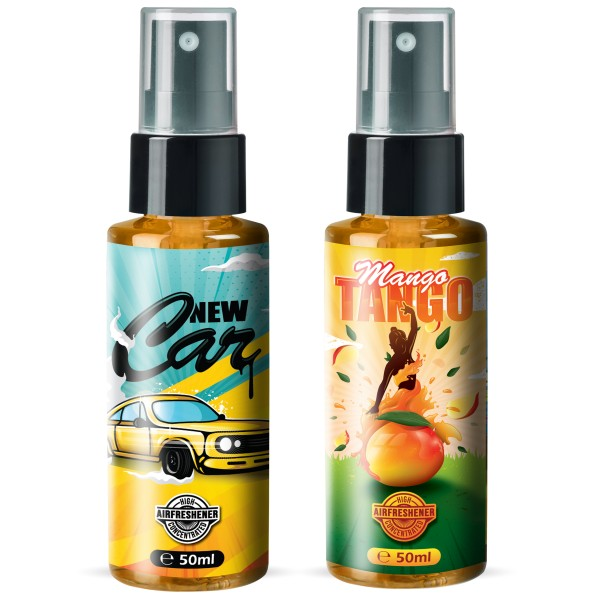 Flavour Bomb - NEW CAR + Mango Tango (2x50ml)