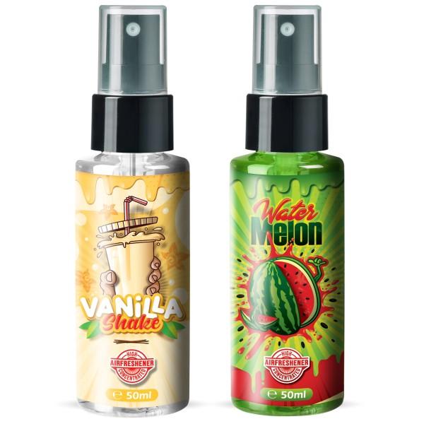 Flavour Bomb - Water Melon + VANILLA Shake (2x50ml)