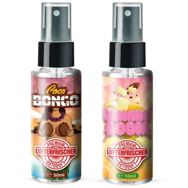 Flavour Bomb - Coco Bongo + Banana Boom (2x50ml)