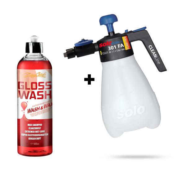 CLEANLine Vario Foam 301 FB - Schaumsprüher + GLOSS WASH 500ml
