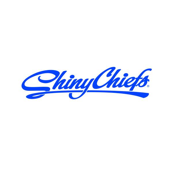 ShinyChiefs Sticker - Blau (30cm x 10cm)