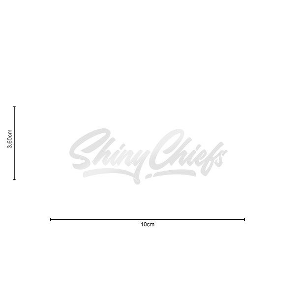 ShinyChiefs Sticker MOTIVE #3 WEISS