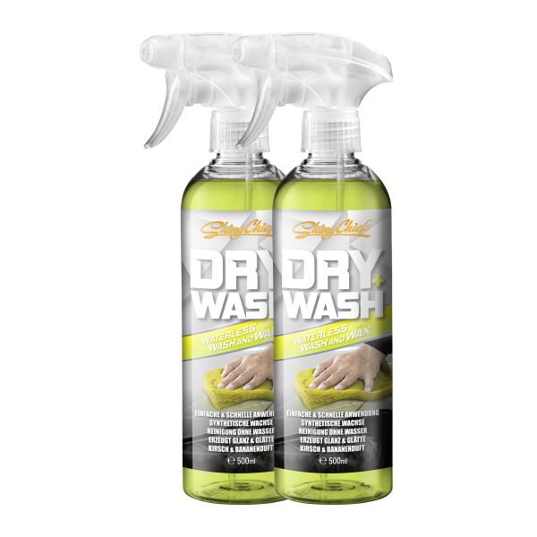 DRY WASH - WATERLESS WASH & WAX DOUBLE (2x500ml)