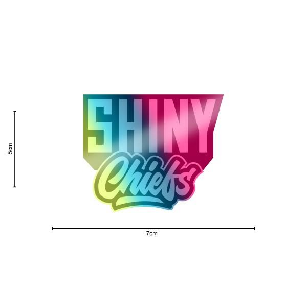 ShinyChiefs Sticker MOTIVE #2 OILSLICK