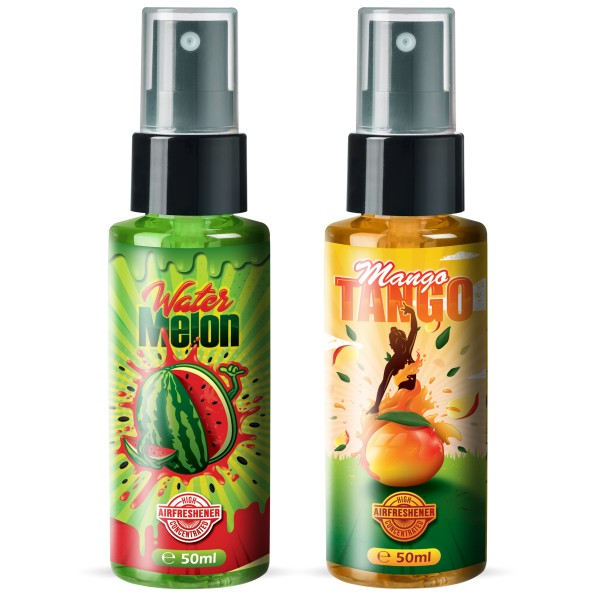 Flavour Bomb - Water Melon + Mango Tango (2x50ml)