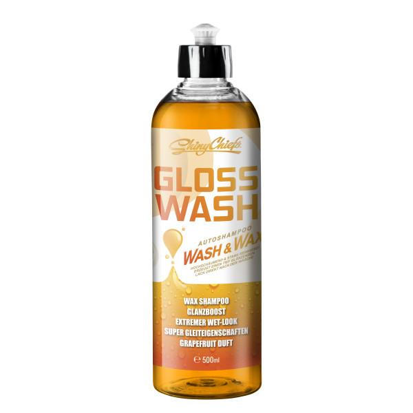 GLOSSWASH GRAPEFRUIT - WASH & WAX 500ml
