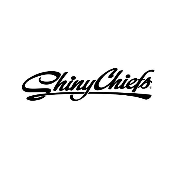 ShinyChiefs Sticker - Schwarz (30m x 10cm)