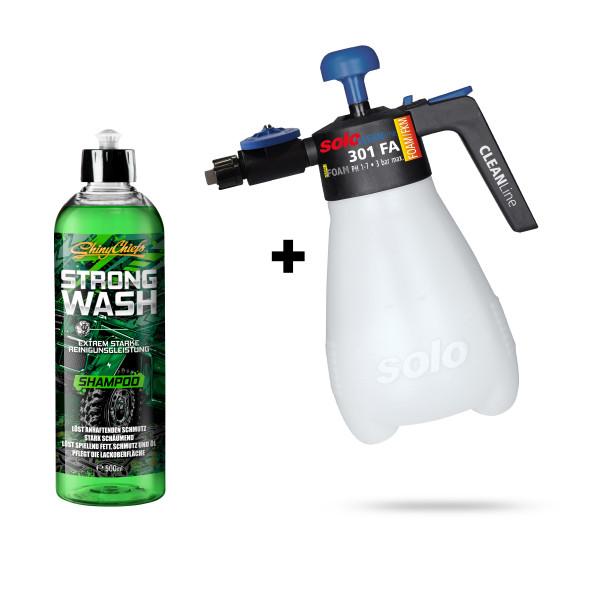 CLEANLine Vario Foam 301 FB - Schaumsprüher + STRONG WASH 500ml