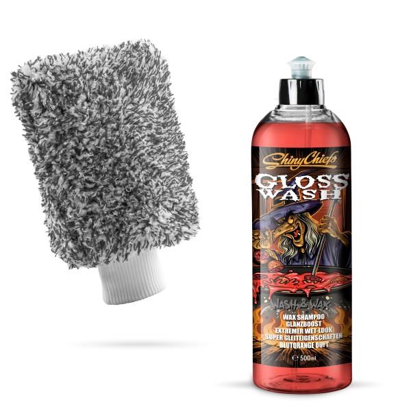 GlossWash - HALLOWEEN EDT. WASH & WAX SET 500ml
