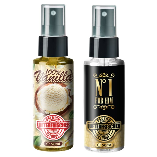 Flavour Bomb - 100% Vanilla + No1 (2x50ml)