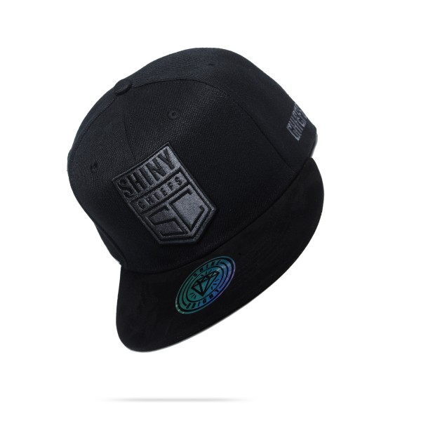 SNAPBACK CAP - LIMITED BLACK GREY EDITION