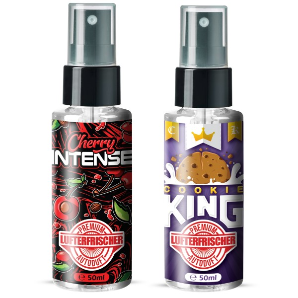 Flavour Bomb - Cookie King + Cherry Intense (2x50ml)
